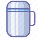 kitchen, thermos icon