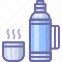 cup, drink, thermos icon