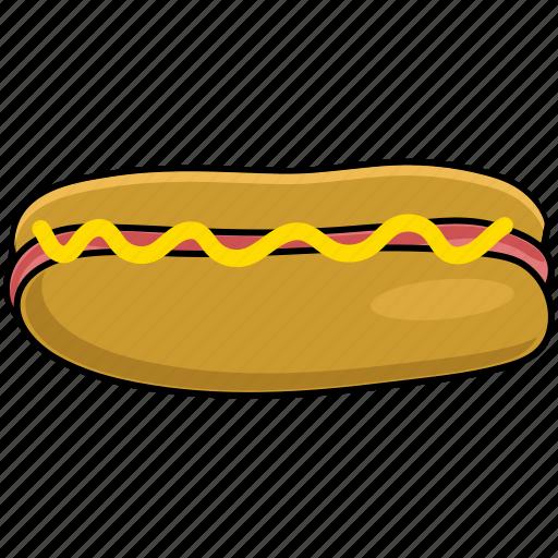 bread, hotdog, sausage icon