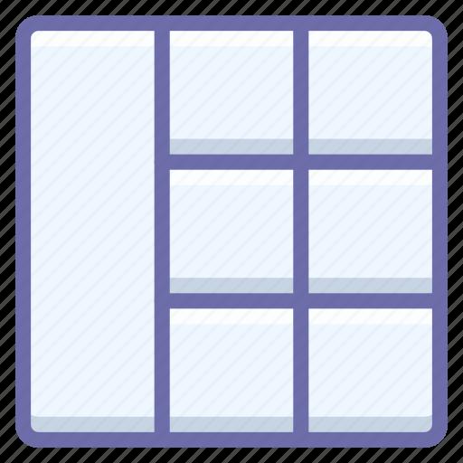 Grid, wireframe icon - Download on Iconfinder on Iconfinder