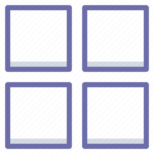 grid, layout, thumbnails icon