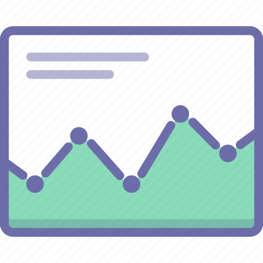 analytics, graph, statistics icon