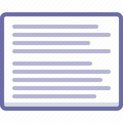 article, post, text icon