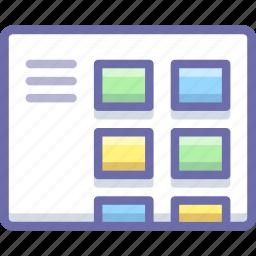 blog, layout, menu icon