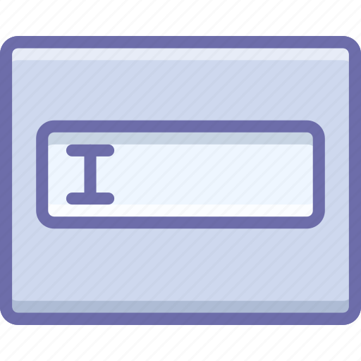 form, layout, text field icon