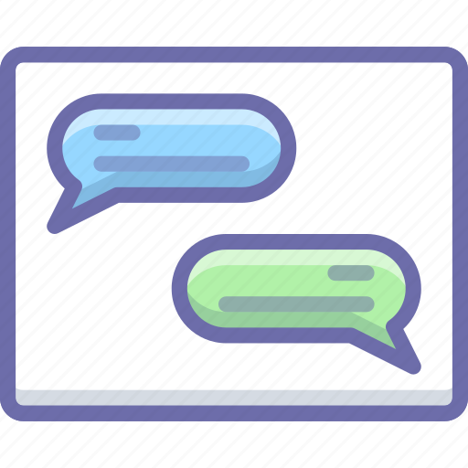 communication, conversation, message icon