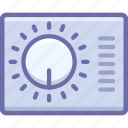 control, gauge, layout icon