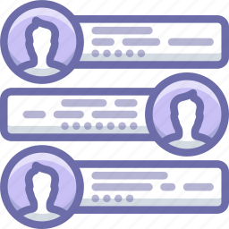 chat, message, team icon