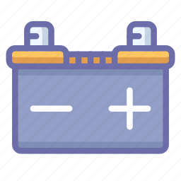 battery, car icon