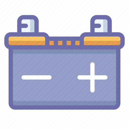 Accumulator, car, battery icon - Download on Iconfinder