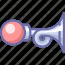beep, car, horn icon
