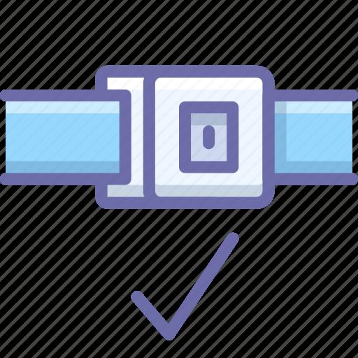 Belt, lock, safety icon - Download on Iconfinder