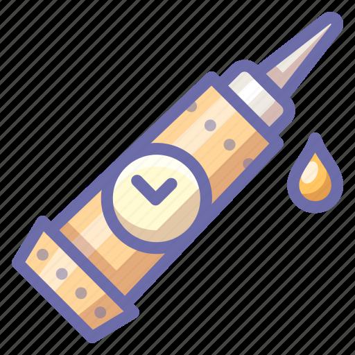 glue, mechanic icon