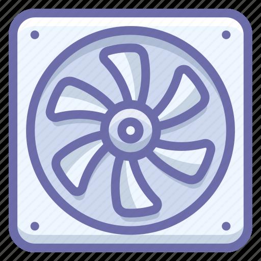 cooler, fan icon