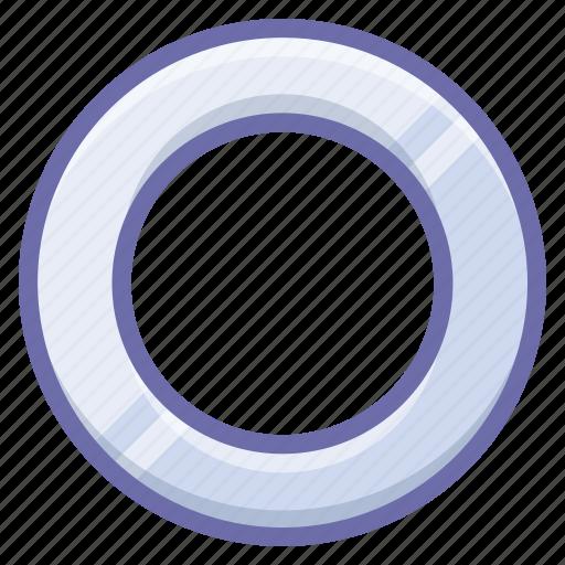 gasket, ring, shim icon