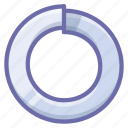 bolt, spring, washer icon