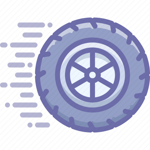 Wheel, motion, ride icon - Download on Iconfinder