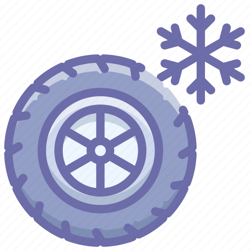 Tires, wheel, winter icon - Download on Iconfinder