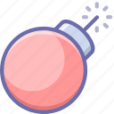 bomb, weapon icon