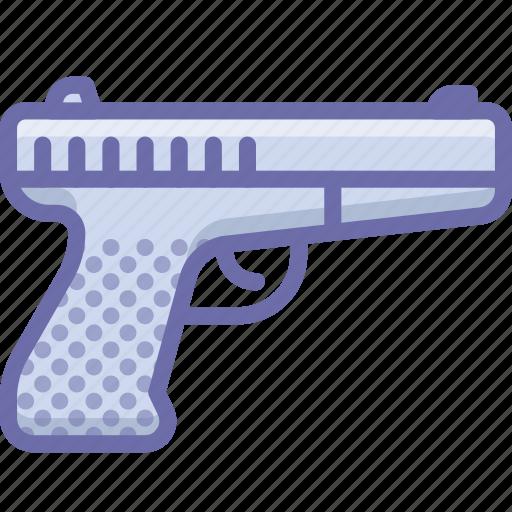 gun, pistol icon