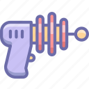 blaster, gun, weapon icon