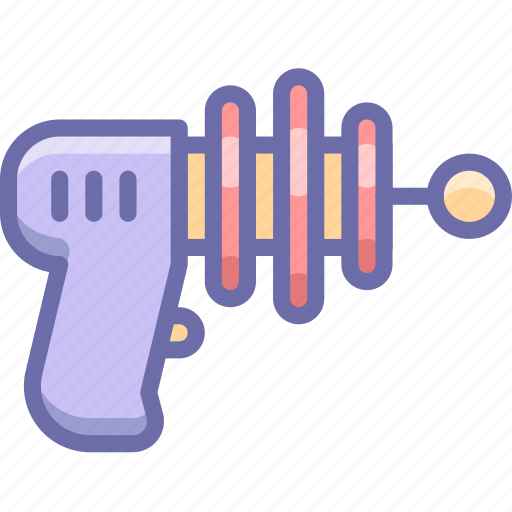 blaster, gun, weapon icon