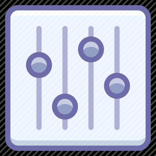 controls, options, tuning icon