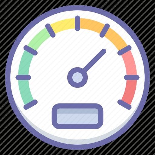 gauge, performance, speed icon