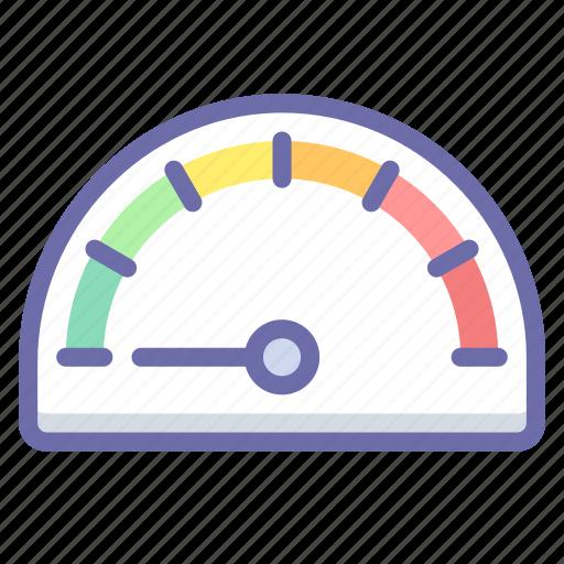 dash, gauge, performance icon