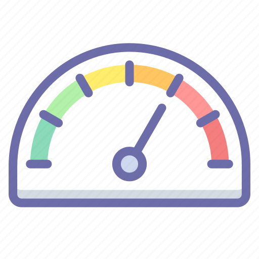 dashboard, gauge, performance icon
