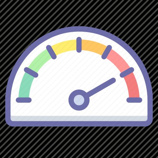 Gauge, speed, speedometer icon - Download on Iconfinder
