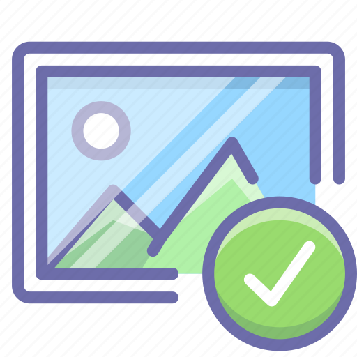 image, photo, selected icon