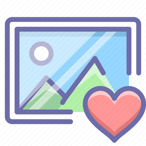 favorite, image, photo icon