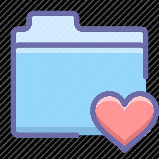 favorite, files, folder icon