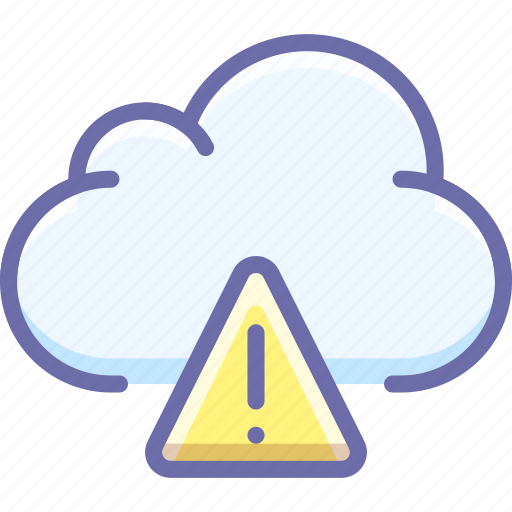 alert, cloud, data icon