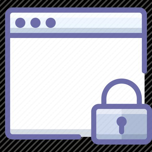 app, lock, mac icon