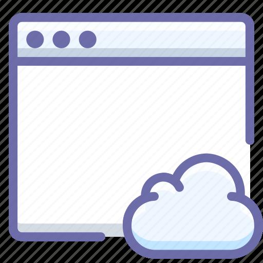 app, cloud, mac icon
