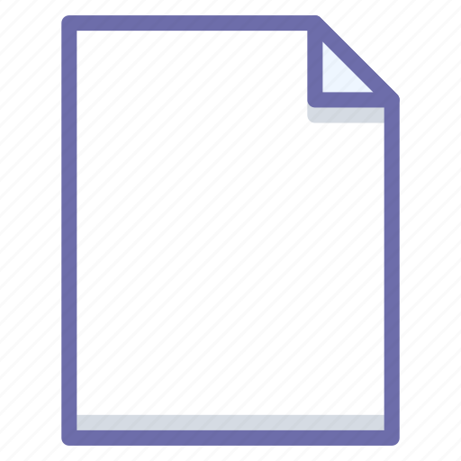 document, file, page icon
