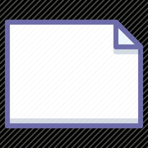 document, file, landscape icon