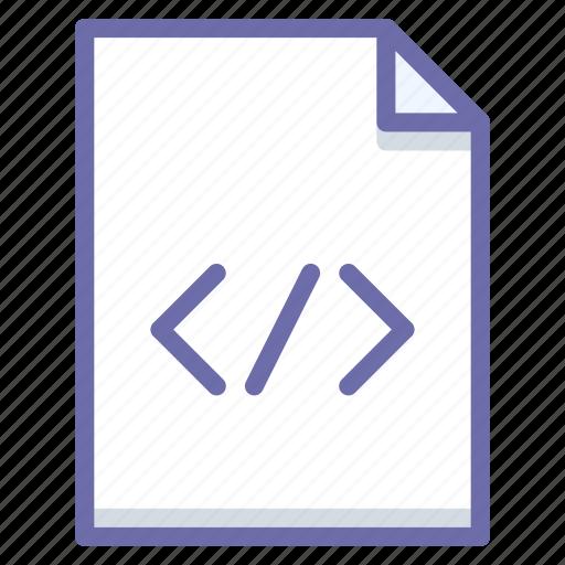 code, document, html icon