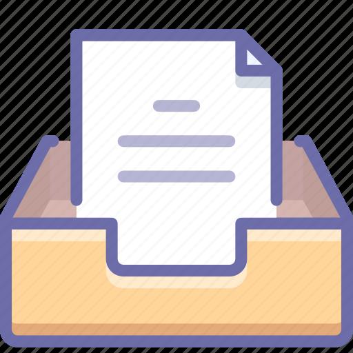 inbox, mail, mailbox icon