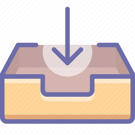 mail, mailbox, receive icon