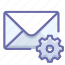 mail, message, preferences icon