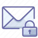 mail, message, private icon