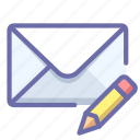 mail, message, write icon