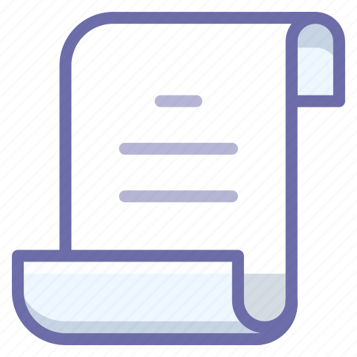 document, log, script icon