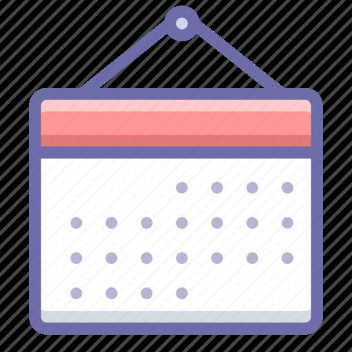 Month, calendar icon