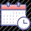 calendar, history, schedule