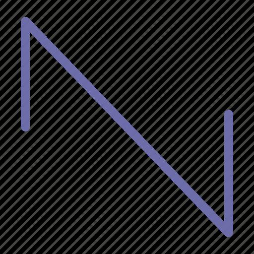 Sound, sawtooth, wave icon