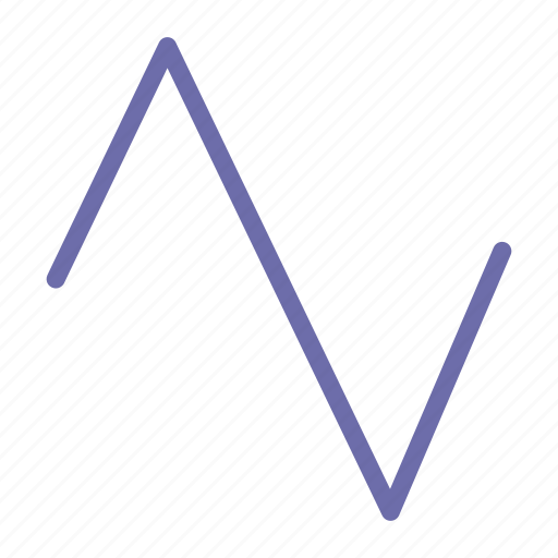 sound, triangle, wave icon